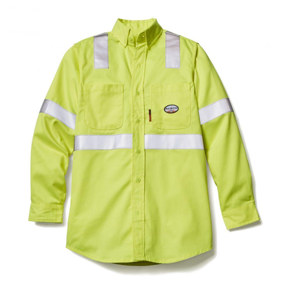 97fe84b2fb22 Rasco FR » Hi-Vis FR Work Shirt