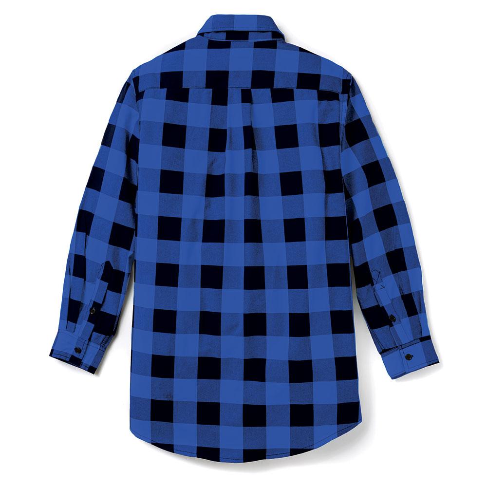 Rasco FR » Black & Blue Plaid Shirt